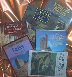 Picture of assorted castle books