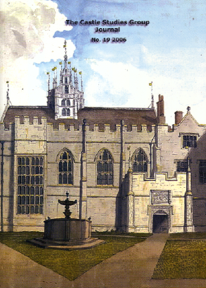 Castle Studies Group Journal